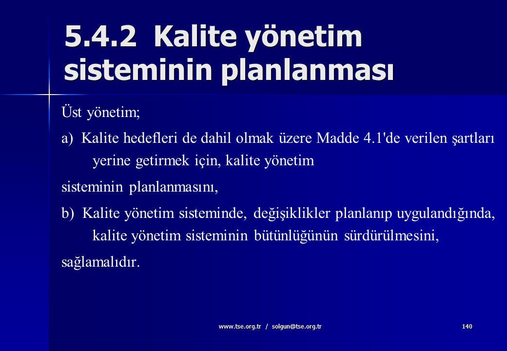 www.tse.org.tr / solgun@tse.org.tr139. Rüya ile Hedef arasındaki fark, Eylemdir