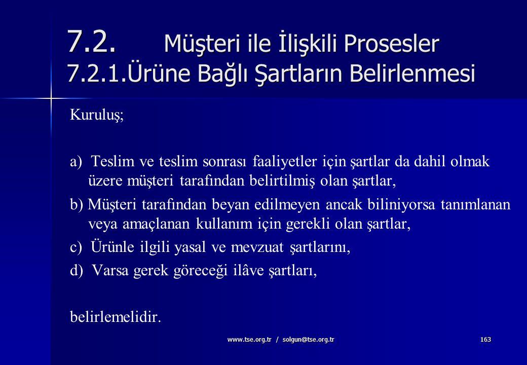 TÜRK STANDARDLARI ENSTİTÜSÜ159