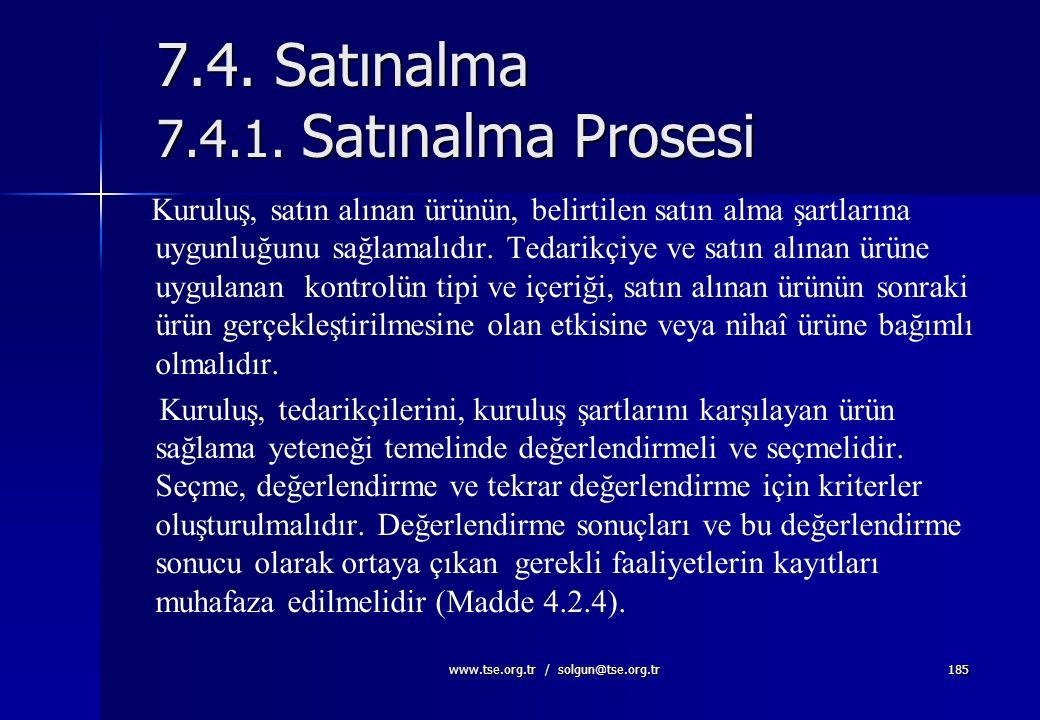 www.tse.org.tr / solgun@tse.org.tr184