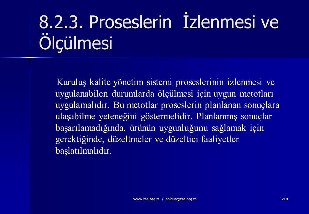 www.tse.org.tr / solgun@tse.org.tr218 Tetkikler  Planlanmış ve dokümante edilmiş olmalı  Tetkik prosesi bağımsız ve objektif olmalı  Tetkikçiler ke
