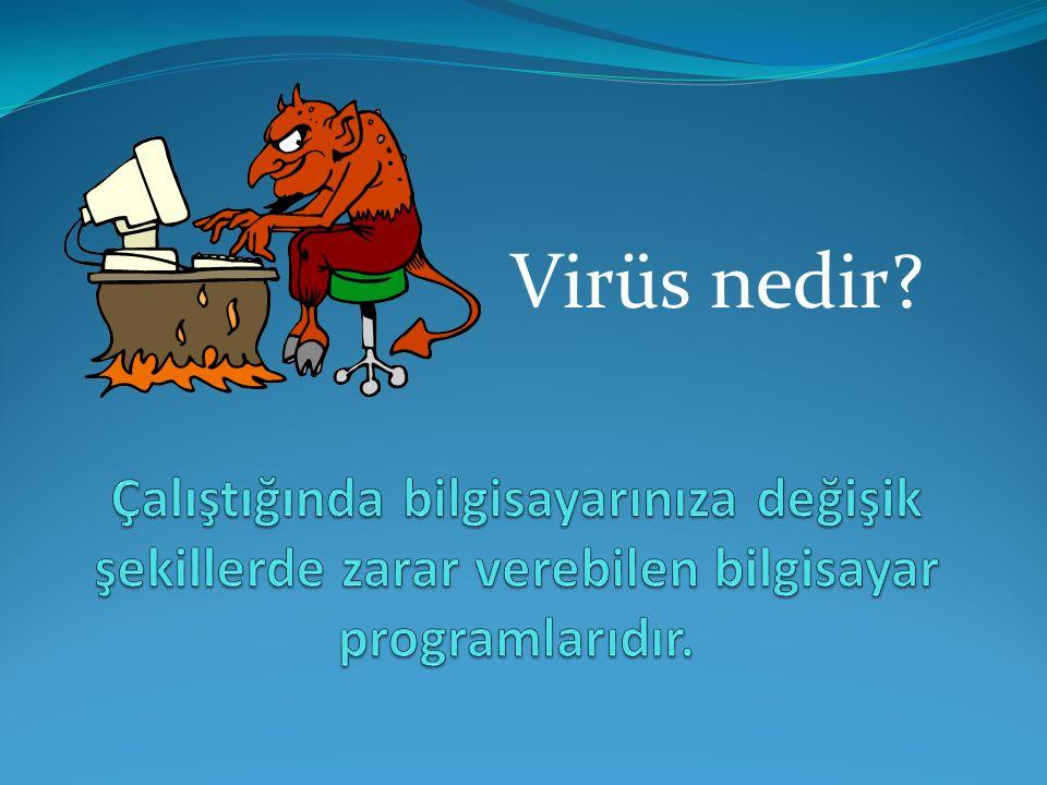 Virüs nedir