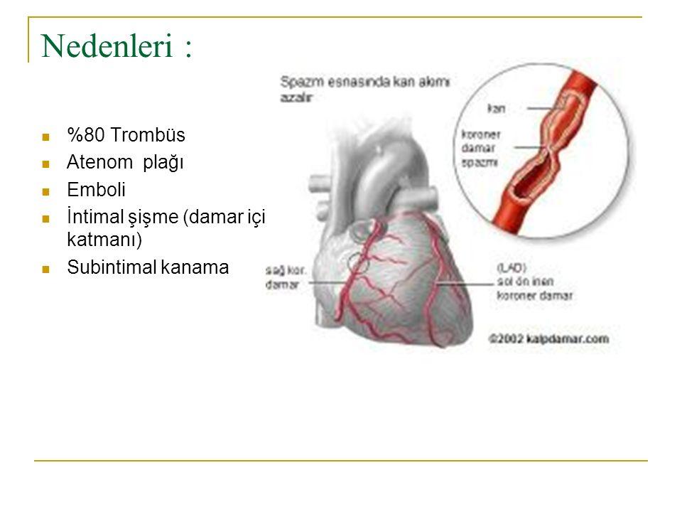 Risk Faktörleri Yaş Cinsiyet Kalıtım Anormal glikoz toleransı Irk Hipertansiyon Sigara Serum kolesterol ve trigliserid düzeyleri Gut Hipotroidizm Sedanter yaşam Düzensiz fizik aktivite İleri derecede damar hastalıkları