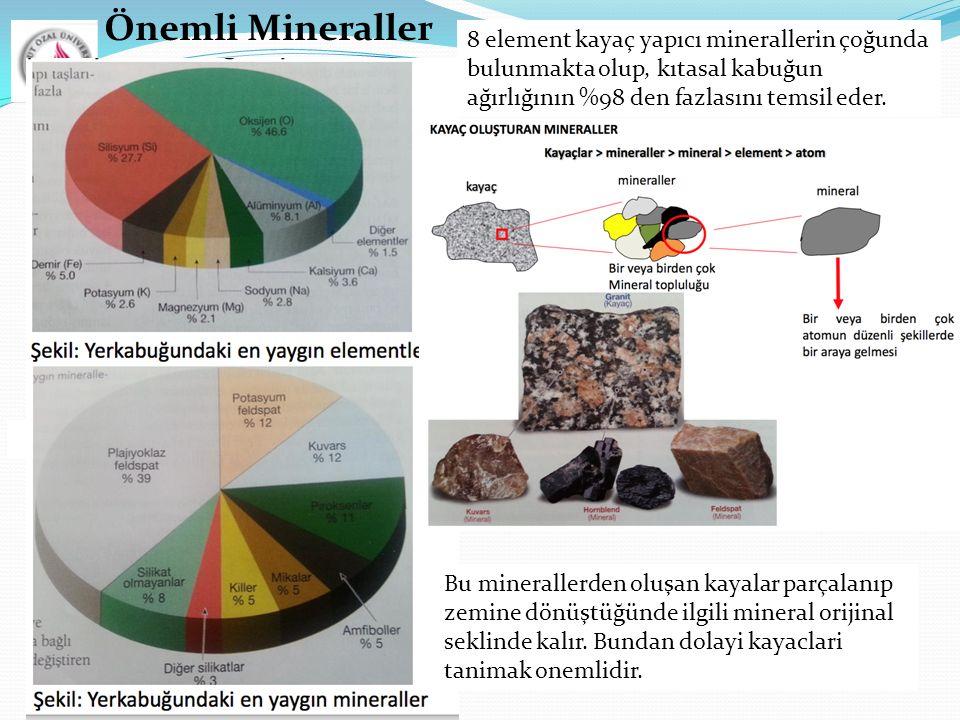 Önemli Mineraller