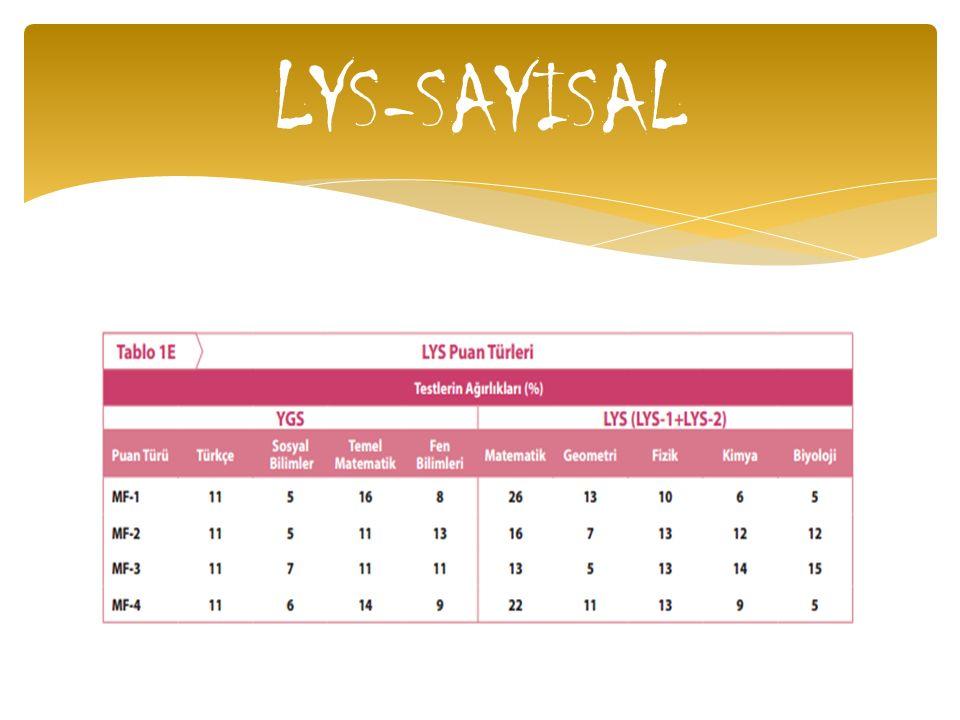 LYS-SAYISAL