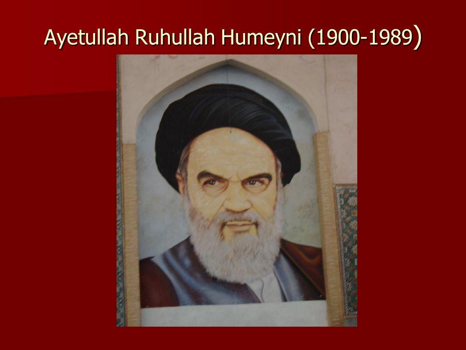 Ayetullah Ruhullah Humeyni (1900-1989 )