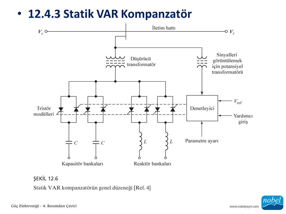 12.4.3 Statik VAR Kompanzatör
