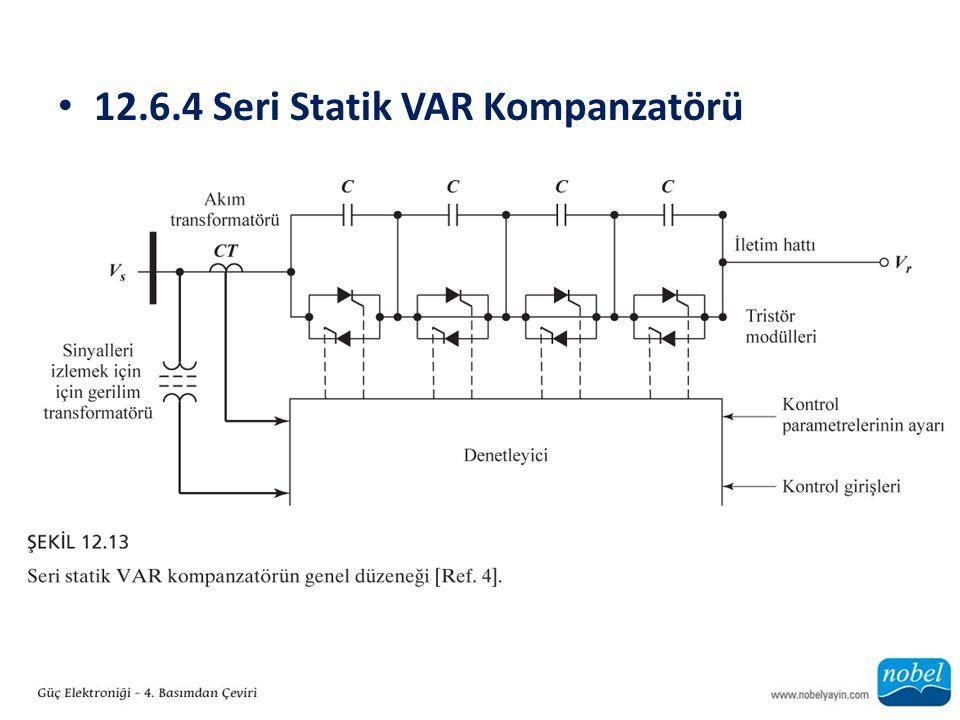 12.6.4 Seri Statik VAR Kompanzatörü