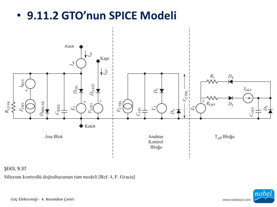 9.11.2 GTO'nun SPICE Modeli