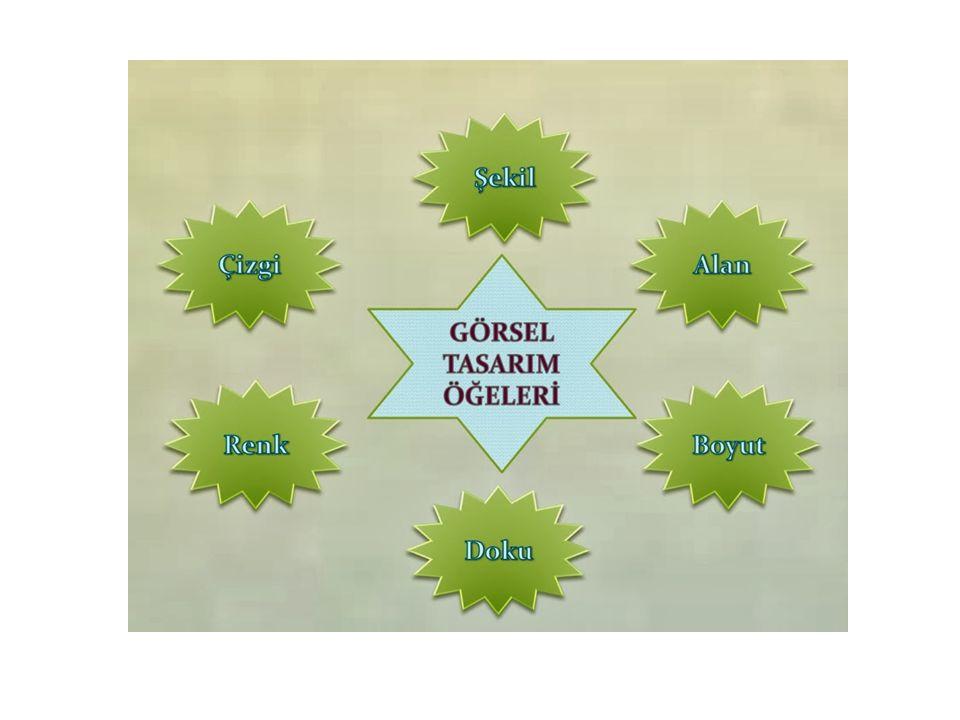 5- Yakınlık Eğitim materyallerinde belirli bir kavramı ifade edebilmek, mesajı iletebilmek için birden fazla öğe kullanılabilir.