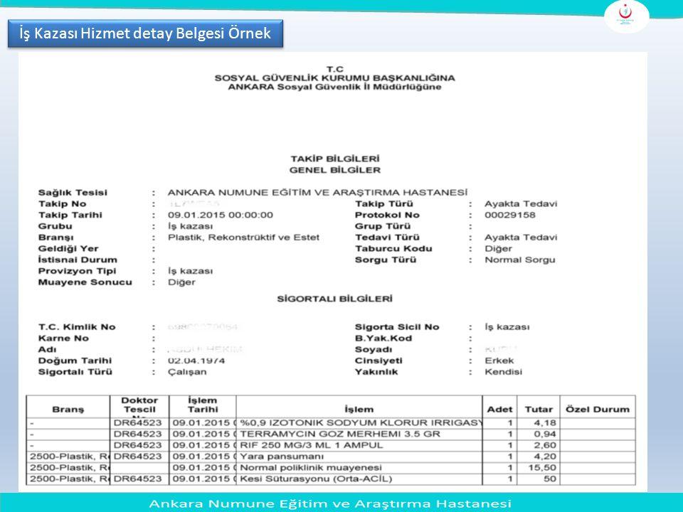 Saymanlık İşlem Fişi MUHASEBE İŞLEM FİŞİ Muhasebe Birimi Kodu67670 Muhasebe Birimi AdıAnkara Etlik KHB DS Muhasebe Birimi Bütçe yılı2015 İlgilinin Adı Soyadı/Unvanı ANKARA NUMUNE EĞİTİM ve ARAŞTIRMA HASTANESİ Fiş No.su T.C./Vergi Kimlik No Kurum - Birim Kodu 12Birim Yevmiyeni n Tarihi30.04.2015Banka Şube AdıHALKBANKASI CEBECİ ŞB.