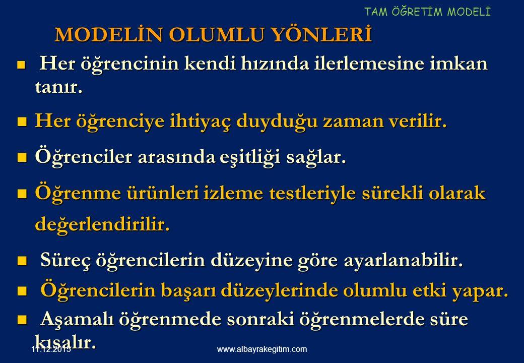 211 Çoklu ZEKA Alanları www.albayrakegitim.com11.12.2015