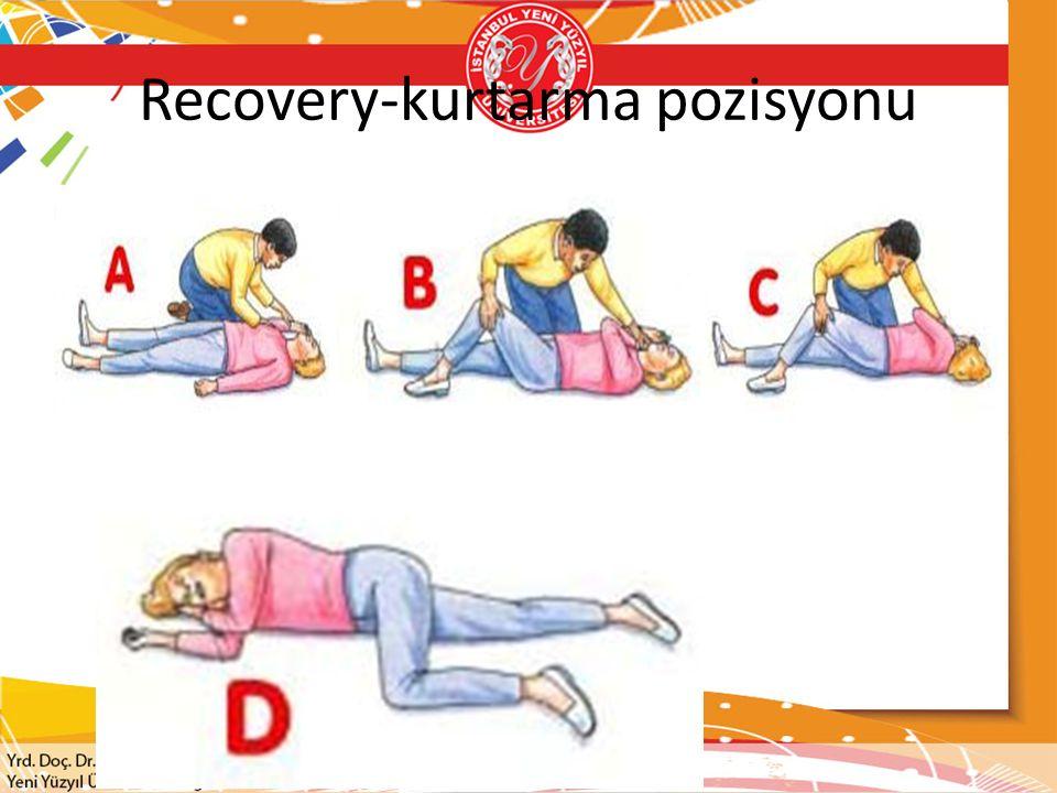 Recovery-kurtarma pozisyonu