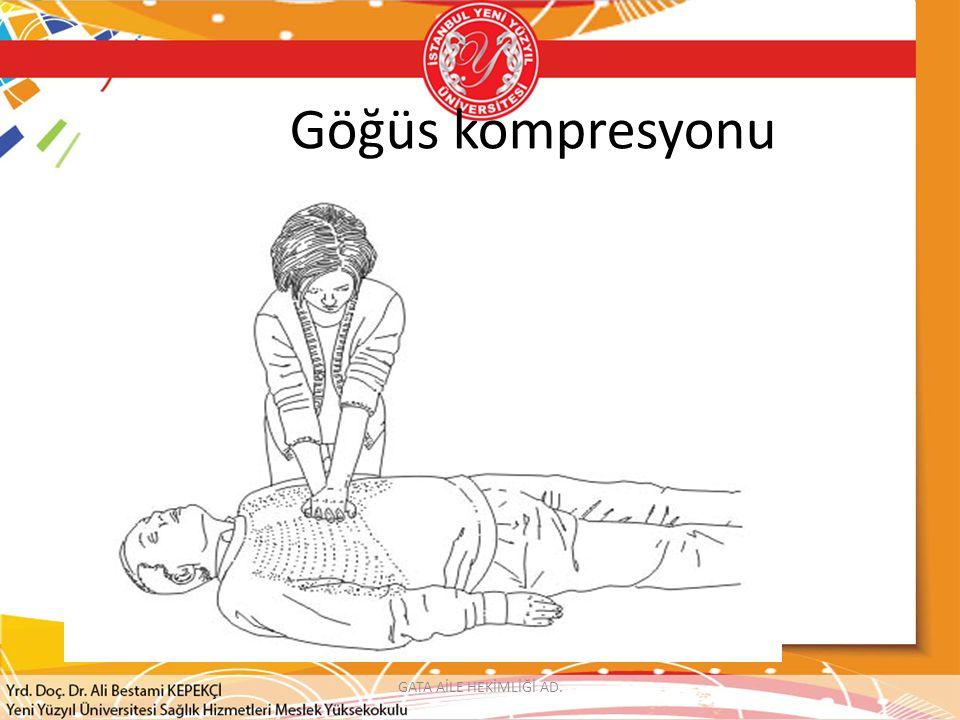 GATA AİLE HEKİMLİĞİ AD. Göğüs kompresyonu