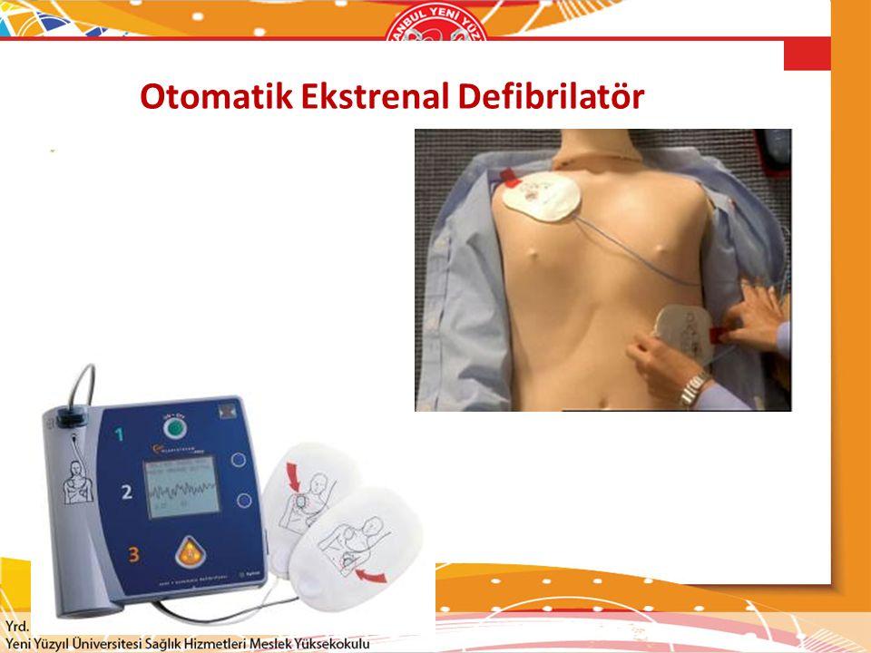 Otomatik Ekstrenal Defibrilatör