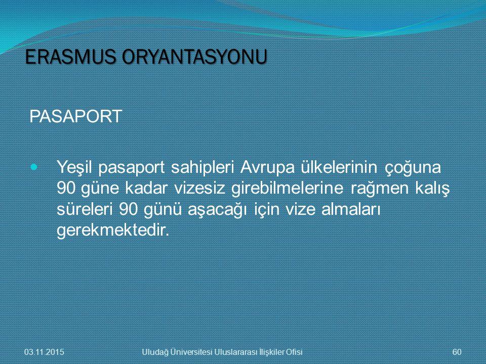 PASAPORT Yeşil pasaport sahipleri Avrupa ülkelerinin çoğuna 90 güne kadar vizesiz girebilmelerine rağmen kalış süreleri 90 günü aşacağı için vize alma