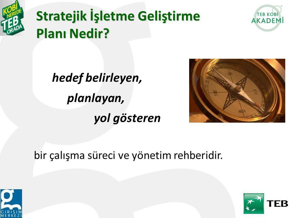 Stratejik İşletme Geliştirme Planı Nedir? hedef belirleyen, planlayan, yol gösteren bir çalışma süreci ve yönetim rehberidir.