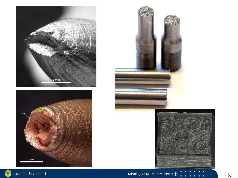 Materials and Chemistry İstanbul Üniversitesi Metalurji ve Malzeme Mühendisliği İstanbul Üniversitesi Metalurji ve Malzeme Mühendisliği gevreksünek 54