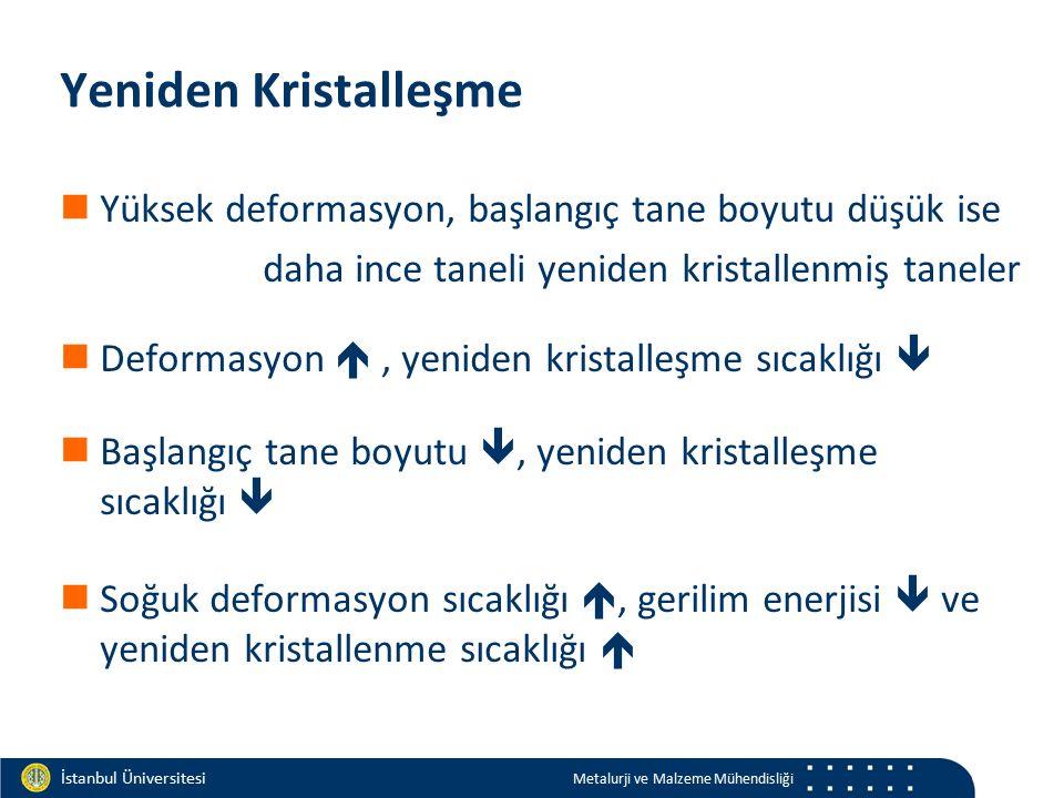 Materials and Chemistry İstanbul Üniversitesi Metalurji ve Malzeme Mühendisliği İstanbul Üniversitesi Metalurji ve Malzeme Mühendisliği Yeniden Krista