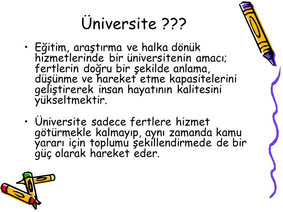 Üniversite ??.