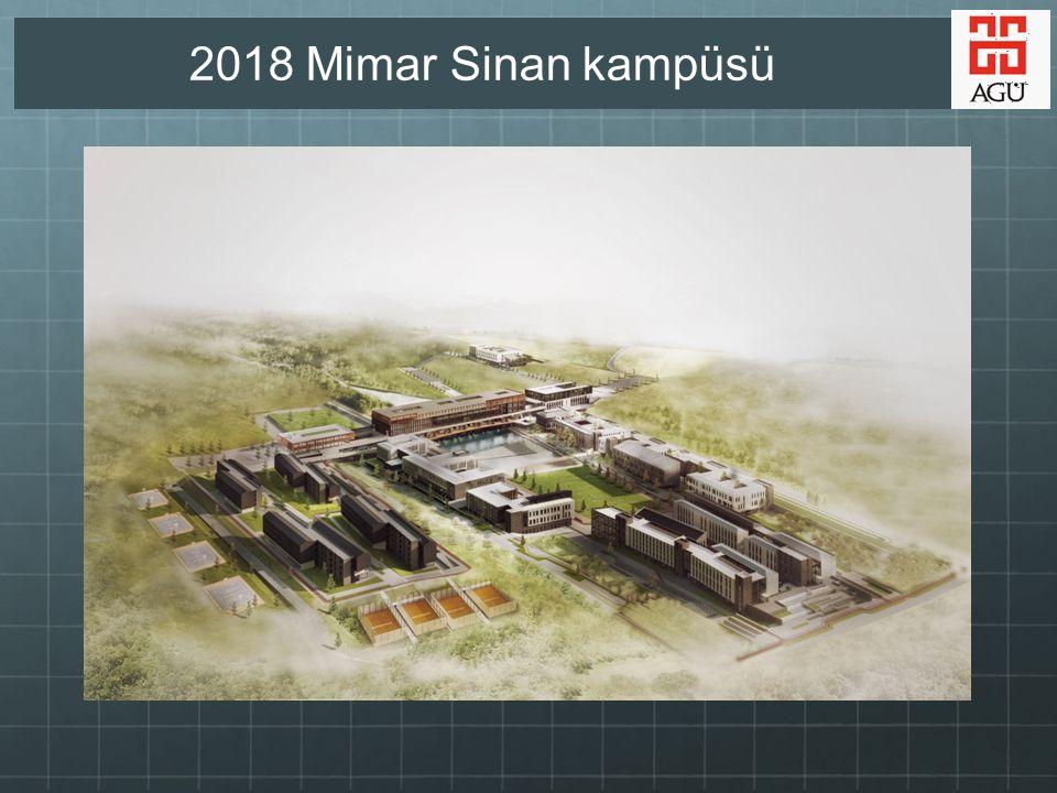 2018 Mimar Sinan kampüsü