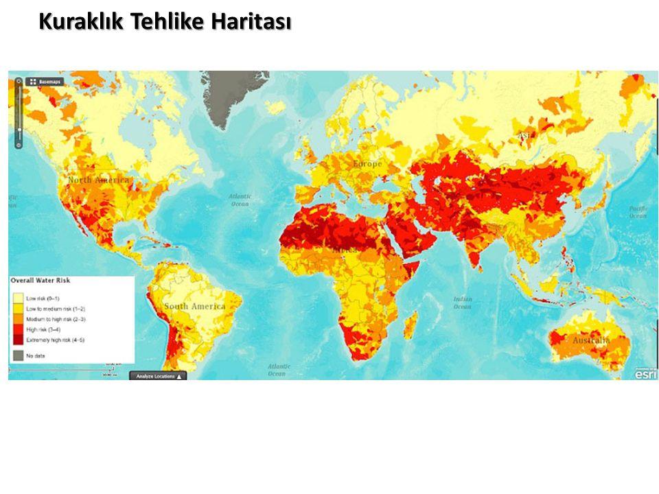 Kuraklık Tehlike Haritası