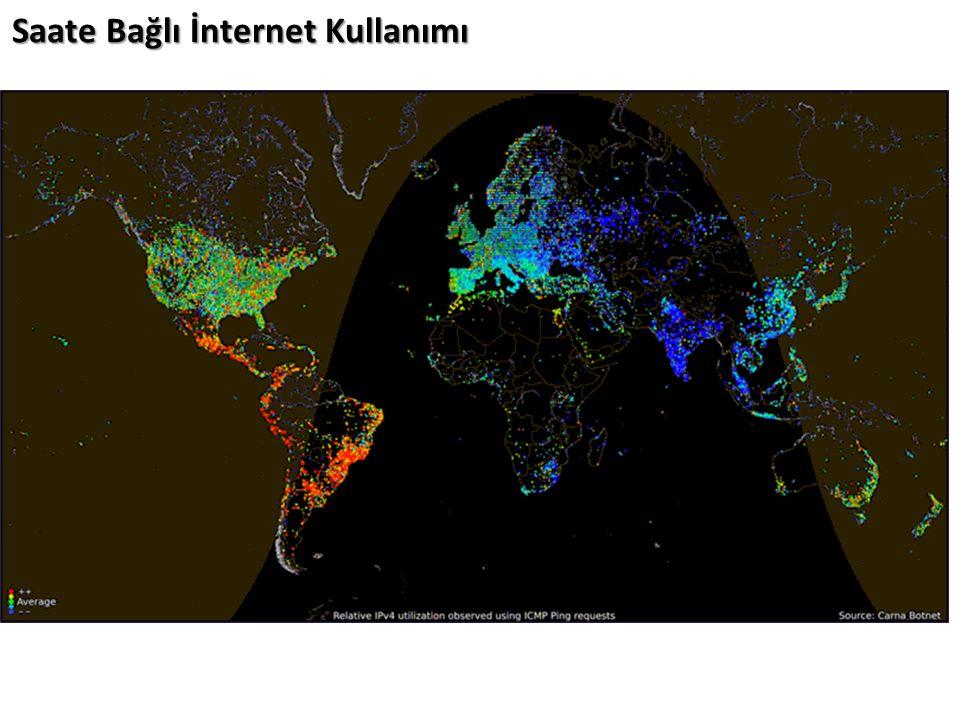 Saate Bağlı İnternet Kullanımı