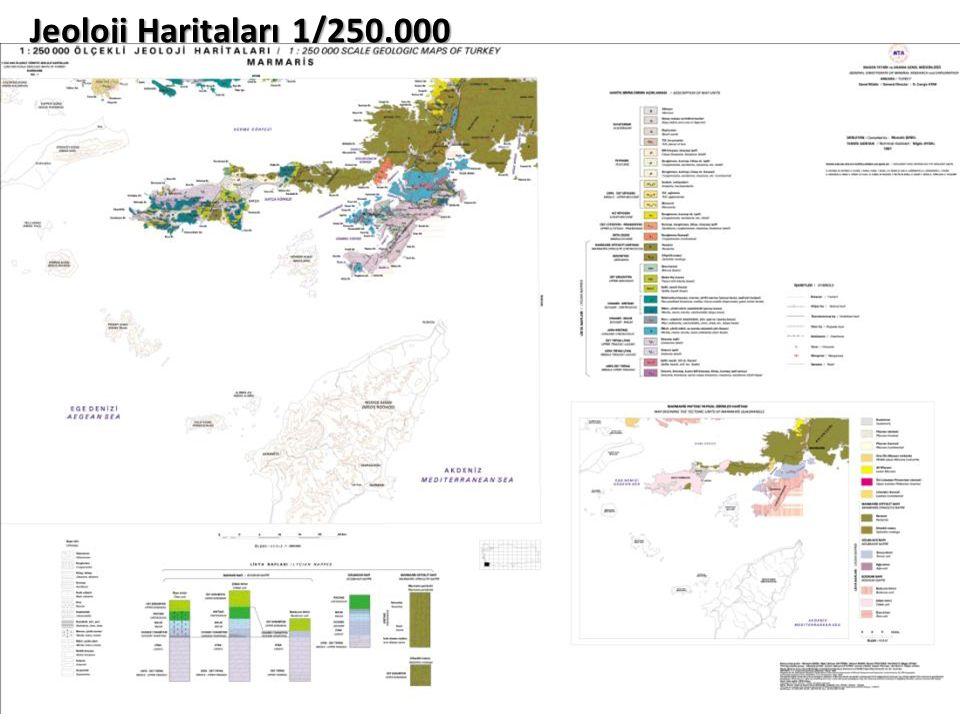 Jeoloji Haritaları 1/250.000