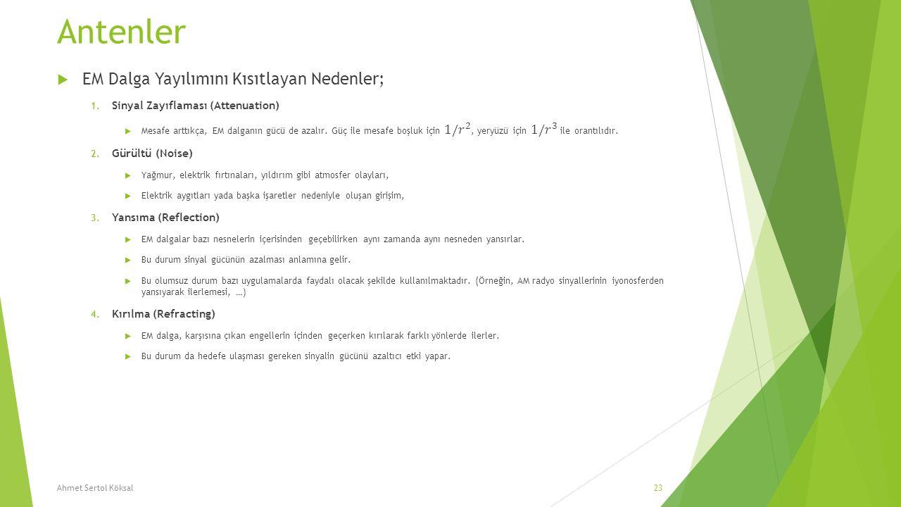 Antenler Ahmet Sertol Köksal23