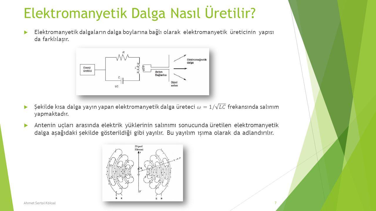 Elektromanyetik Dalga Nasıl Üretilir? Ahmet Sertol Köksal7