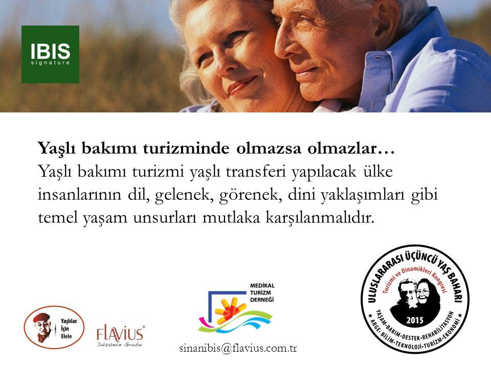 Yaşlı bakımı turizminde olmazsa olmazlar… Yaşlı bakımı turizmi yaşlı transferi yapılacak ülke insanlarının dil, gelenek, görenek, dini yaklaşımları gi