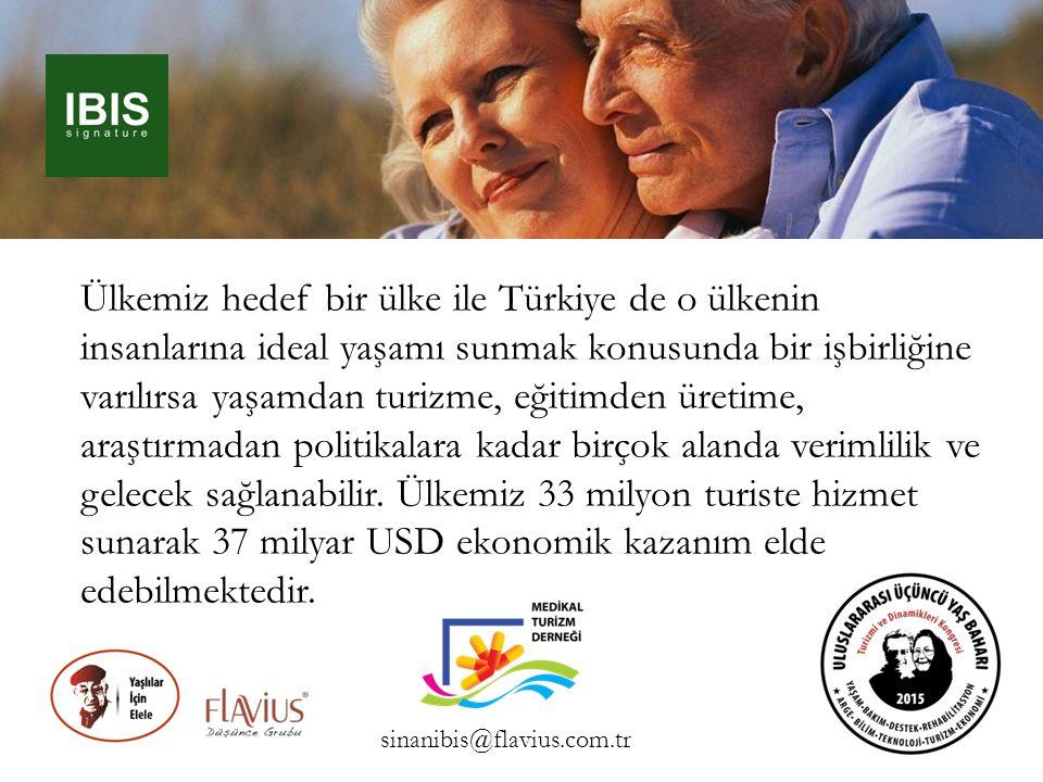 Ülkemiz hedef bir ülke ile Türkiye de o ülkenin insanlarına ideal yaşamı sunmak konusunda bir işbirliğine varılırsa yaşamdan turizme, eğitimden üretim