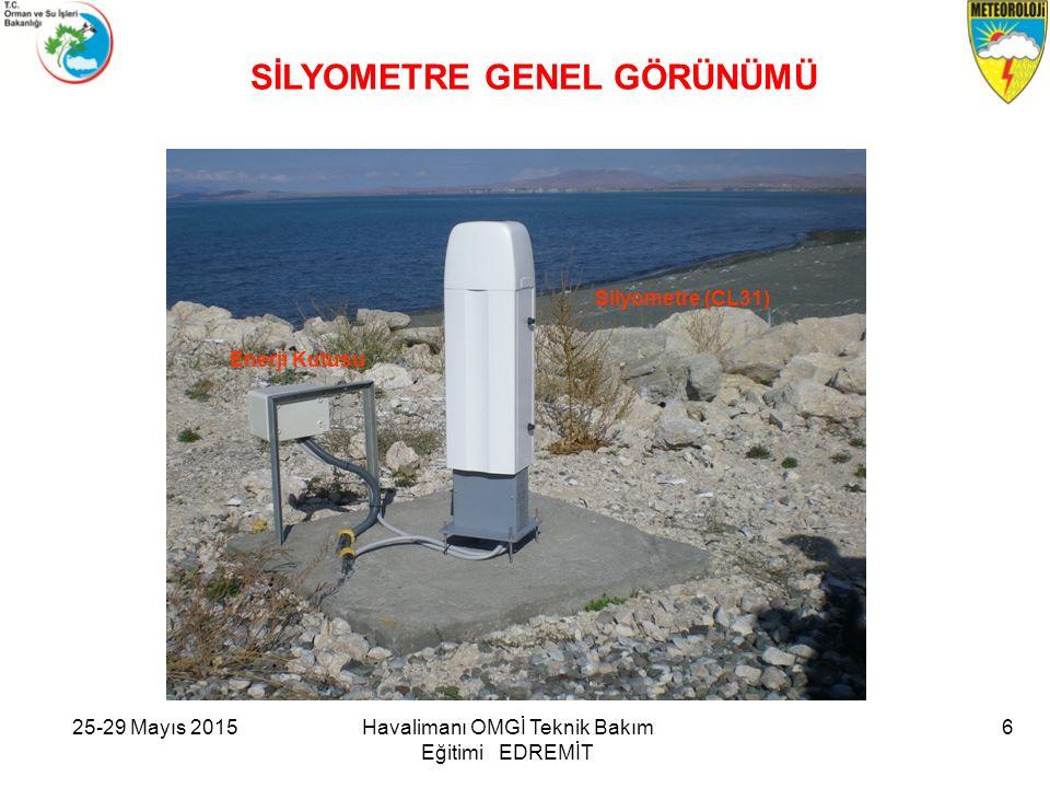 25-29 Mayıs 2015Havalimanı OMGİ Teknik Bakım Eğitimi EDREMİT 6 Silyometre (CL31) Enerji Kutusu SİLYOMETRE GENEL GÖRÜNÜMÜ