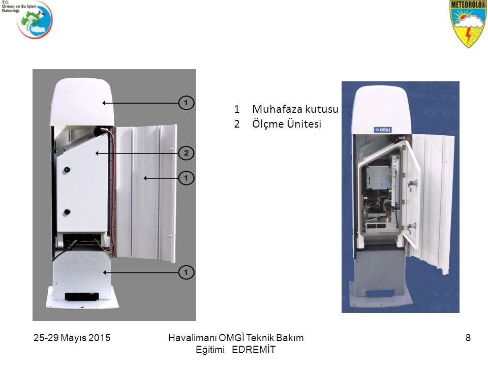 25-29 Mayıs 2015Havalimanı OMGİ Teknik Bakım Eğitimi EDREMİT 9 Yüksek Voltaj ve Lazer içermektedir.