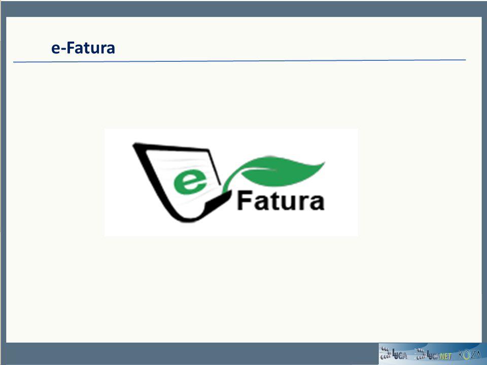 e-Fatura Özellikli Konular *Eğer e-Fatura uygulamasına başvuru yaptıysanız ve uygulamayı kullanmaya başladıysanız, www.efatura.gov.tr internet adresimizde yayınlanan Kayıtlı Kullanıcılar listesinde unvanı bulunan mükelleflere sadece elektronik fatura düzenleyebilirsiniz.