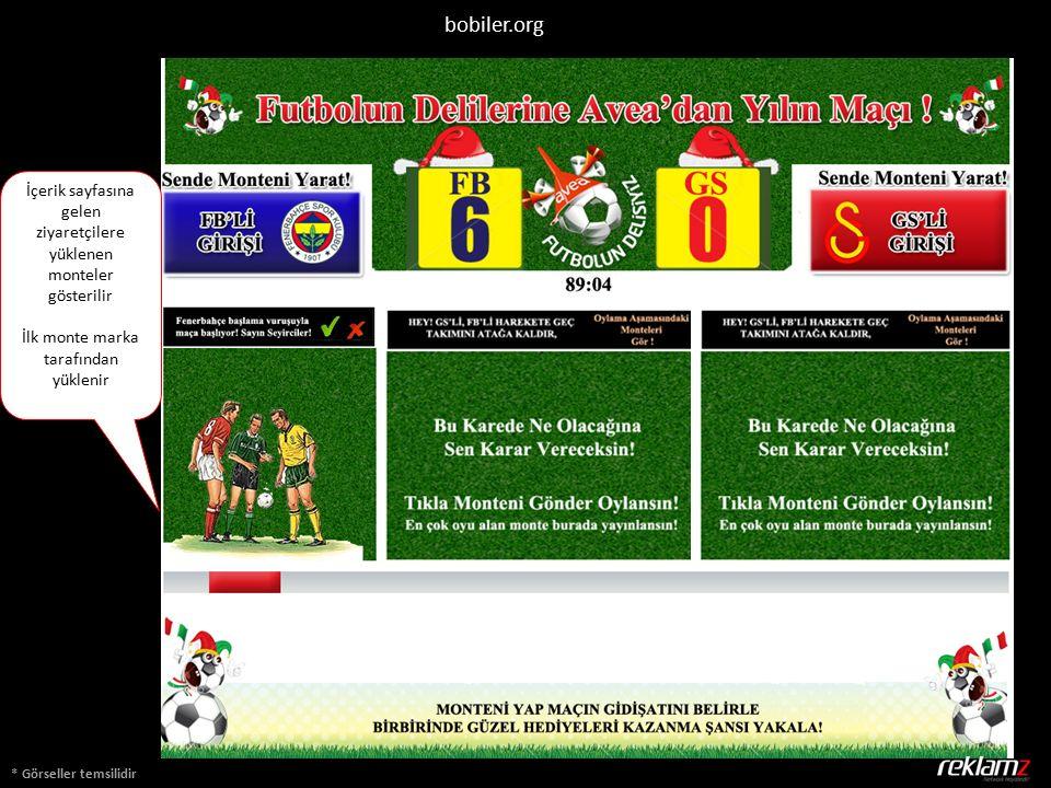 * Görseller temsilidir bobiler.org İçerik sayfasına gelen ziyaretçilere yüklenen monteler gösterilir İlk monte marka tarafından yüklenir