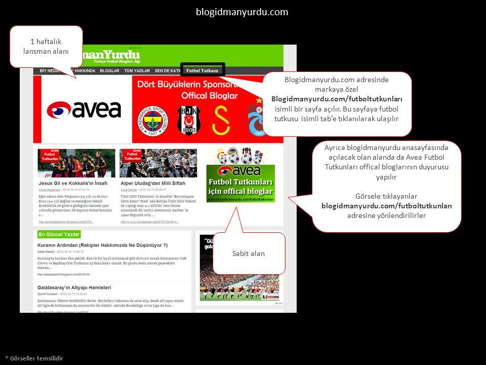 Ayrıca blogidmanyurdu anasayfasında açılacak olan alanda da Avea Futbol Tutkunları offical bloglarının duyurusu yapılır Görsele tıklayanlar blogidmany