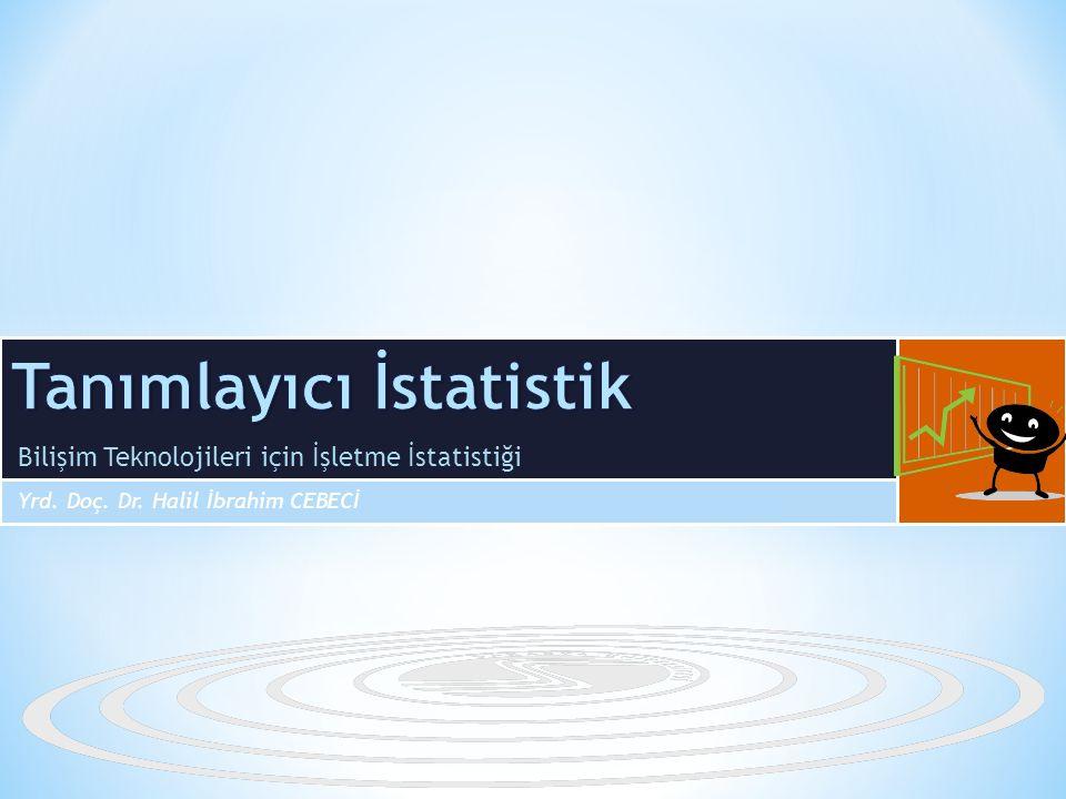 GRAFİK VE TABLO TEKNİKLERİ İstatistik bilimi sadece veri analizi süreçlerinden ibaret değildir.
