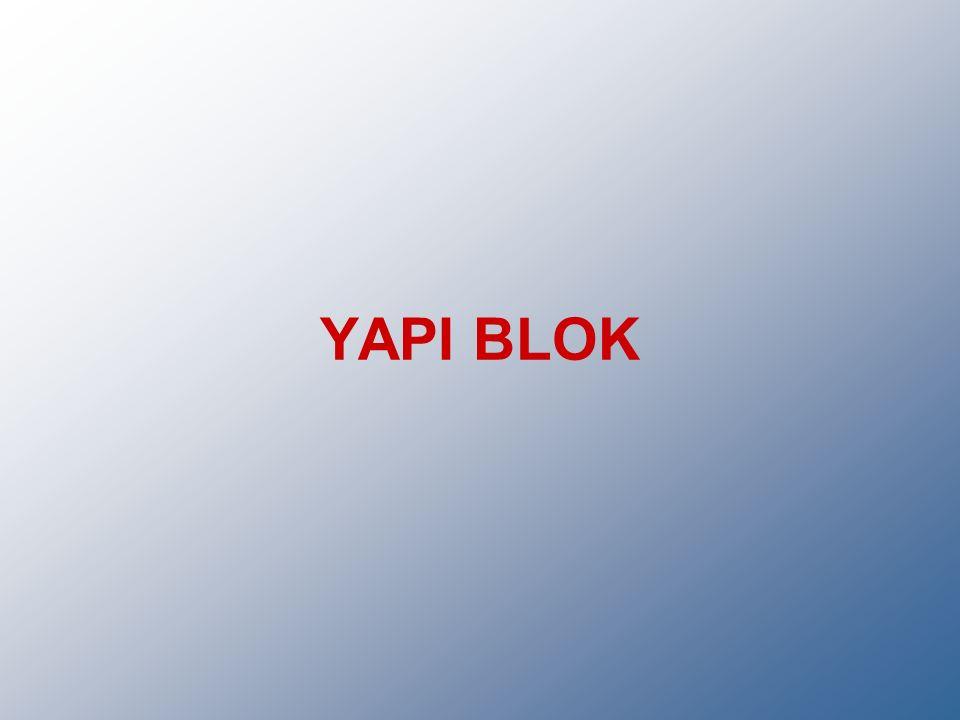 YAPI BLOK