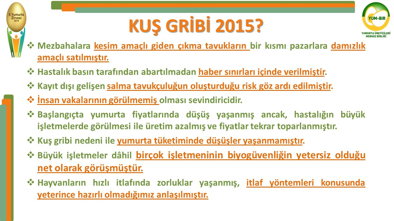 KUŞ GRİBİ 2015.