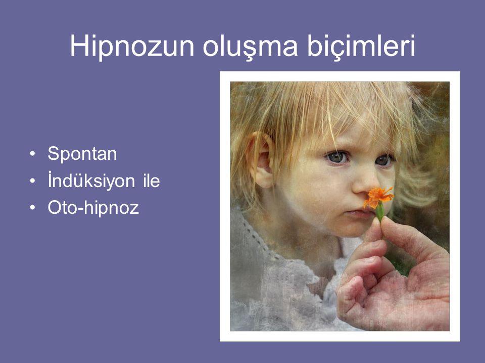 Hipnozun oluşma biçimleri Spontan İndüksiyon ile Oto-hipnoz