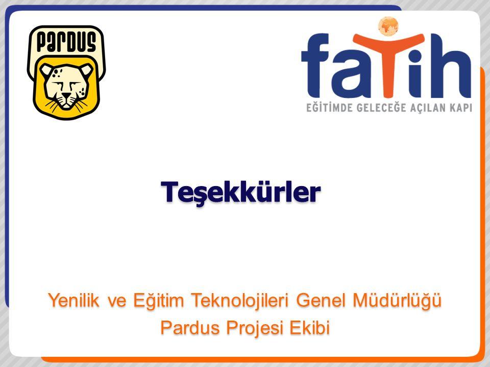 Yenilik ve Eğitim Teknolojileri Genel Müdürlüğü Pardus Projesi Ekibi