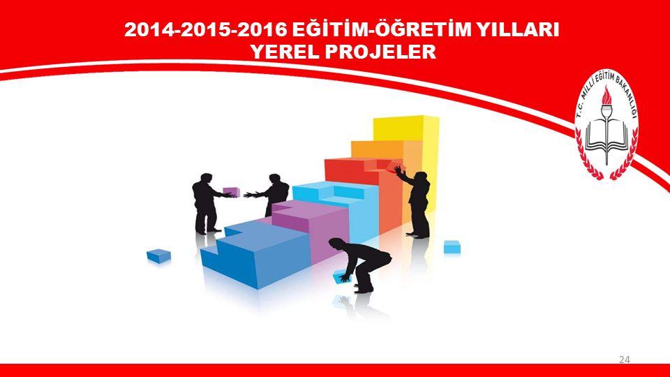 2014-2015-2016 EĞİTİM-ÖĞRETİM YILLARI YEREL PROJELER 24
