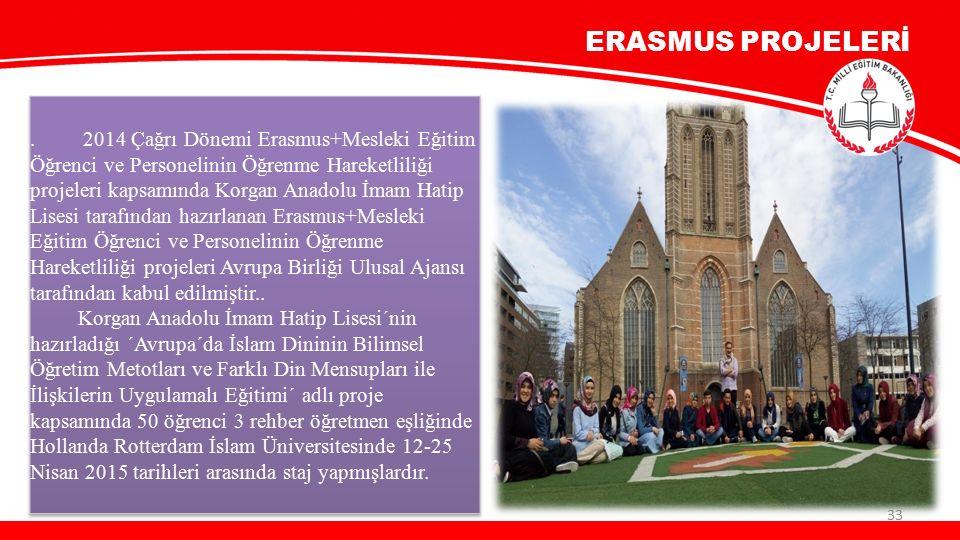 ERASMUS PROJELERİ 33