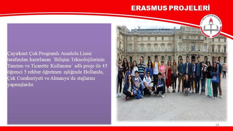 ERASMUS PROJELERİ 34