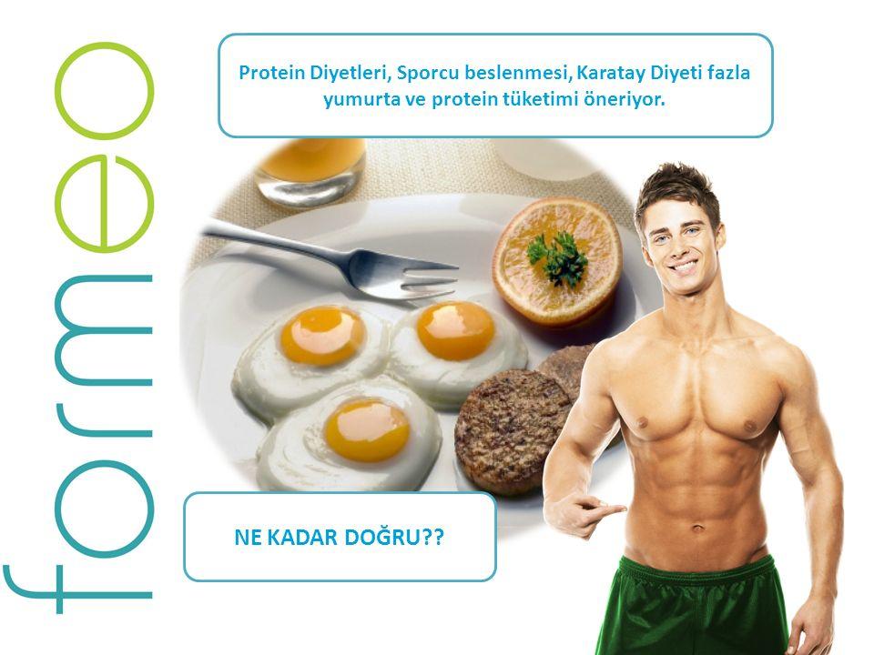 Günlük alınması gereken proteinin en az %60 'ını içeren bir kahvaltı ne kadar sağlıklı? Protein Diyetleri, Sporcu beslenmesi, Karatay Diyeti fazla yum