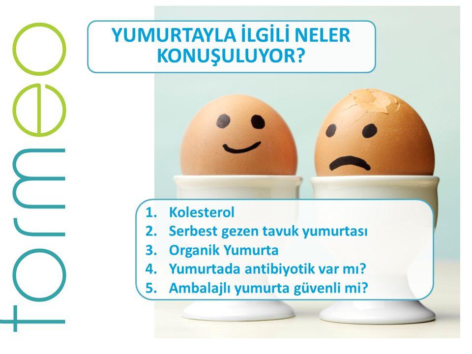 YUMURTAYLA İLGİLİ NELER KONUŞULUYOR? 1.Kolesterol 2.Serbest gezen tavuk yumurtası 3.Organik Yumurta 4.Yumurtada antibiyotik var mı? 5.Ambalajlı yumurt