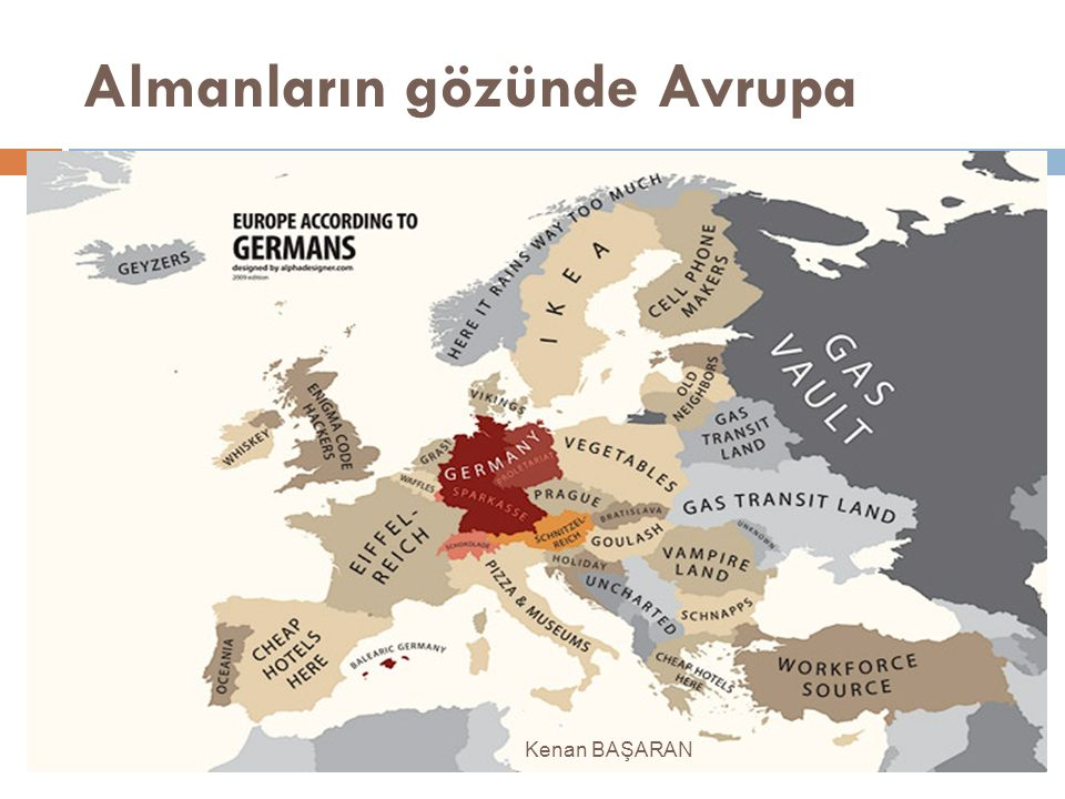Almanların gözünde Avrupa Kenan BAŞARAN