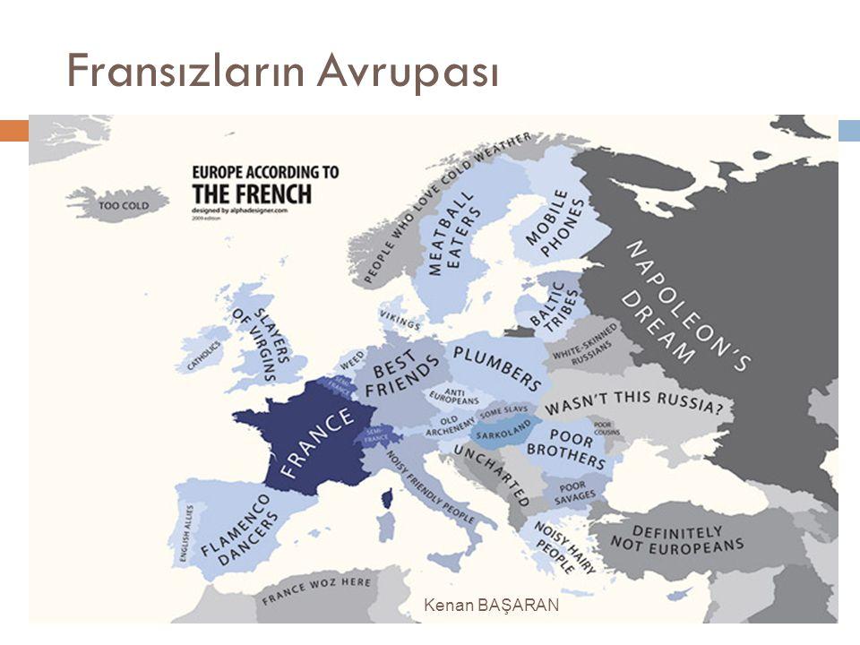 Fransızların Avrupası Kenan BAŞARAN