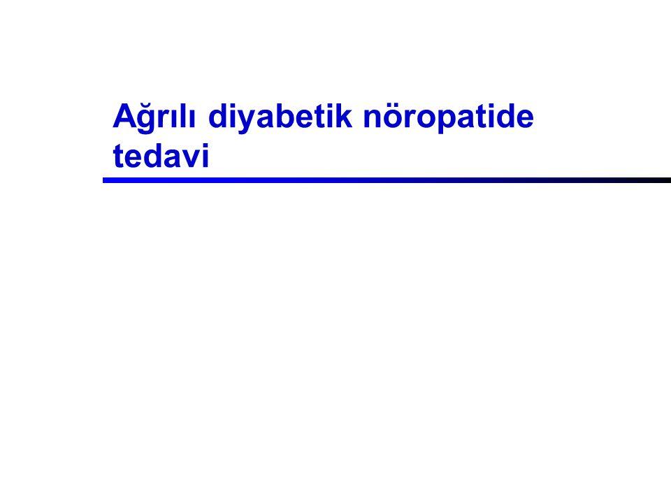 Ağrılı diyabetik nöropatide tedavi