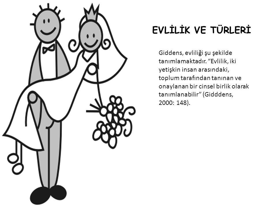 Evlilik Türleri 1.Oturulan Yere Göre: a.
